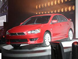 Detroit 2007: nové Mitsubishi Lancer a studie Lanceru Evolution
