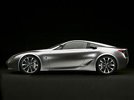 Detroit 2007: Lexus LF-A Concept - Astonu v zádech