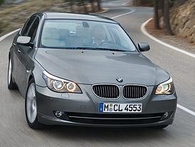 BMW 5: Facelift středního věku