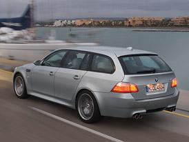 BMW M5 Touring: Pro� by komb�ky nem�ly jezdit 300 km/h?