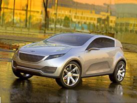 Detroit 2007: Studie Kue je budoucností automobilky Kia