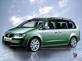 Spy Photos: Volkswagen Sharan