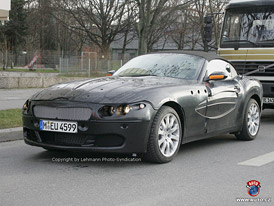 Spy Photos: První fotografie nového BMW Z9