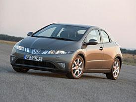 Honda má díky Civiku rekordní prodeje v Evropě