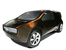 Nissan Bevel: automobil pro jednoho