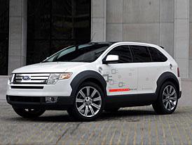 Ford Edge HySeries Drive: hybrid na druhou