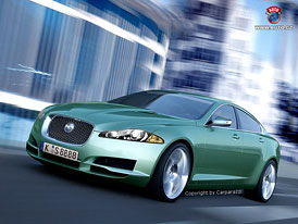 Nový Jaguar XJ půjde v duchu studie C-XF