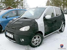 Spy Photos: Nový mini Hyundai, inovace pro Picanto