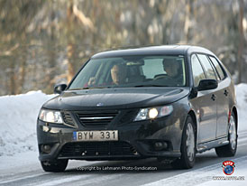Spy Photos: Saab 9-3 Black Turbo, verze s pohonem všech kol a velký facelift