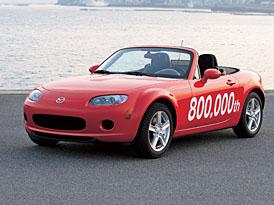 Mazda MX-5: vyrobeno již 800 000 kusů
