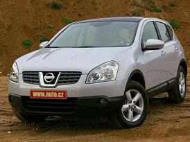 Nissan Qashqai se prodává lépe než se čekalo