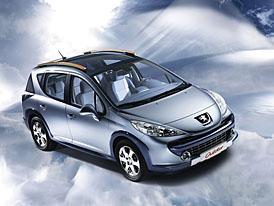 Peugeot v �enev�: 207 tak� jako �cross� kombi z budouc�ho 207SW