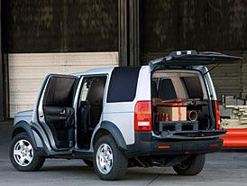 Land Rover Discovery 3 v užitkové verzi: N1 není jen českou specialitou