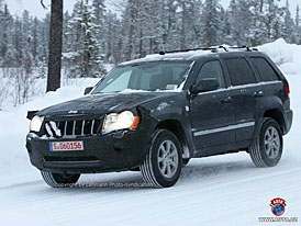 Spy Photos: Jeep Grand Cherokee CRD s decentními změnami