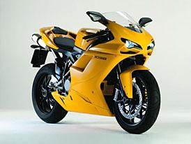 Ducati 1098 v nových barvách: žlutá a černá