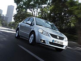 Suzuki SX4: v Ženevě už jako sedan