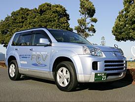 Vodíkový Nissan X-Trail: chcete se svézt?
