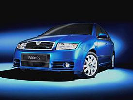 Škoda UK: Nová Fabia RS příjde v roce 2008