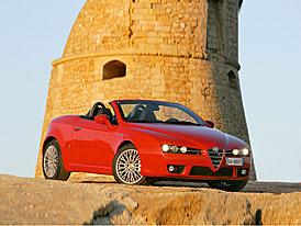 Alfa Romeo v �enev�: nov� Brera a Spider 2,2 JTS Selespeed