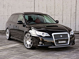 DAMD připravil kit BlackXMetal pro Subaru Legacy Tourer