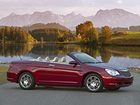 Chrysler v Ženevě: Sebring Cabrio také pro Evropu
