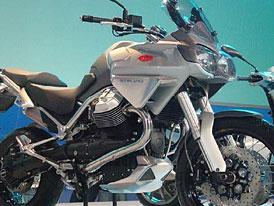 Moto Guzzi 1200 Stelvio: odpověď na BMW R1200GS?