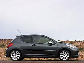 Peugeot 207 RC: oficiální informace