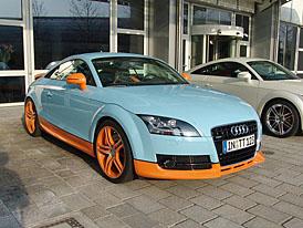 Audi TT Quattro Sport - Gulf Edition