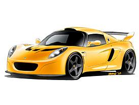 Ženeva 2007: Lotus Exige GT3 concept: Extrém mezi extrémy