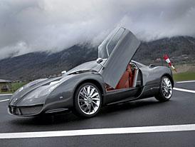 Ženeva živě: Spyker C12 Zagato - holandský supersport s italským kabátem