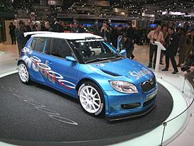 Ludanek: Škoda Fabia S2000 by měla být hotova v roce 2008