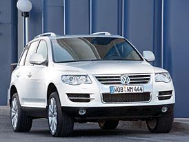 Ženeva živě: Volkswagen Touareg BlueTDI s nejčistším TDI