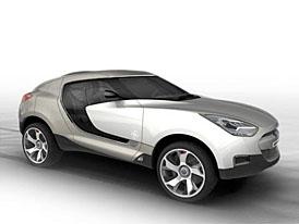 Ženeva zivě: Hyundai Qarmaq (Video: garážové stání a garážová jízda)