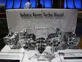 Ženeva živě: Diesel Subaru těsně před dokončením (doplněno o fotografie)