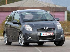 Toyota Yaris TS: první jízdní dojmy