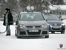 Spy Photos: Volkswagen Golf R36 pro ty, kterým je 184 kW málo