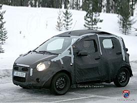 Spy Photos: nový Opel Agila sníží značce emisní průměr