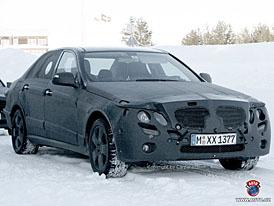 Spy Photos: Mercedes-Benz E (W212) se představí v roce 2009