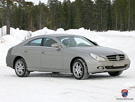 Spy Photos: Mercedes-Benz CLS s novou maskou a novou zádí