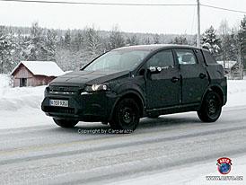 Spy Photos: Nov� SUV od Fordu - s�riov� podoba studie Iosis X