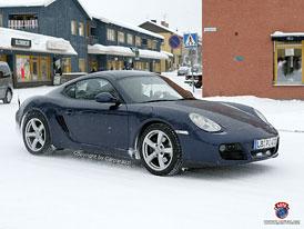 Spy Photos: Vylepšená Porsche Boxster a Cayman v království LEDu