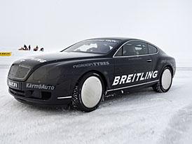 Video: Bentley Continental GT – rekordní jízda na ledě