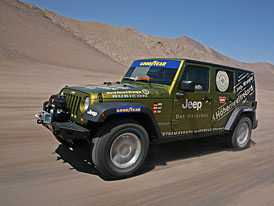 S Jeepem Wrangler Unlimited Rubicon a� do v�ky 6 646 m.n.m.