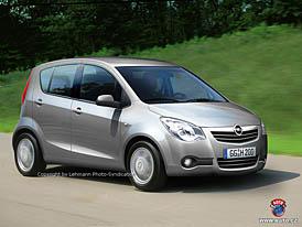 Spy Photos: nov� Opel Agila nav�e na Corsu
