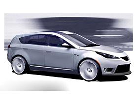 ZAP-X Crossover Eletric Car: oficiální skici elektromobilu
