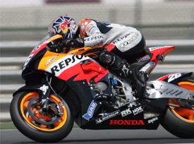 MS motocyklů, startovní rošt pro GP Španělska