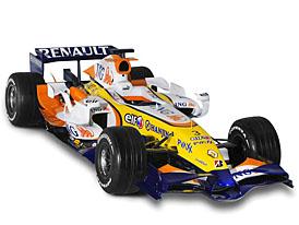 Na stáž do týmu ING Renault F1 pojede český inženýr