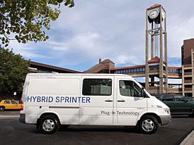 Dodge Sprinter PHEV: dodávka na baterky