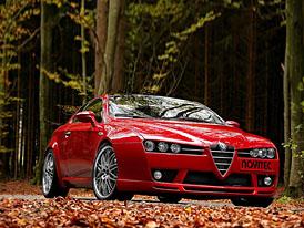 Novitec Alfa Brera 2,4 JTD: kráska v rudém negližé