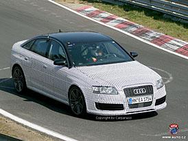 Spy Photos: Audi RS6 s rozšířenou karoserií a přeplňovaným desetiválcem